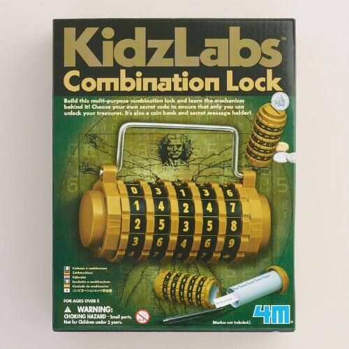 Build Your Own Combination Lock