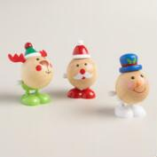 Holiday Wooden Hoppers, Set of 3