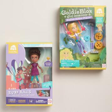 GoldieBlox Action Figure
