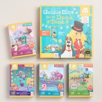 GoldieBlox Building Set