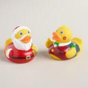 Holiday Rubber Duck Bath Toy, Set of 2