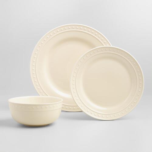Ivory Nantucket Dinnerware