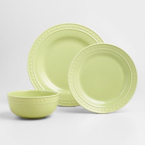 Green Nantucket Dinnerware