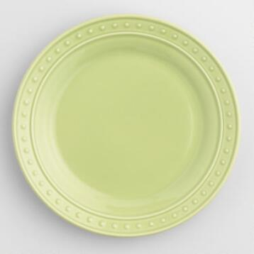 Green Nantucket Salad Plates, Set of 4