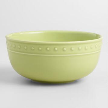 Green Nantucket Bowls, Set of 4