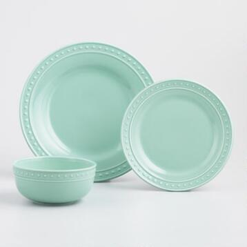 Aqua Nantucket Dinnerware