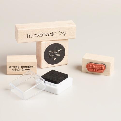 Handmade Stamp Set
