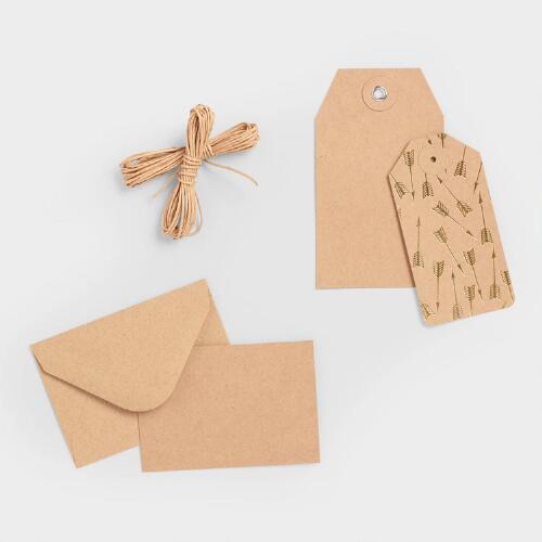 Kraft Gift Tags, Set of 24