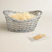 Basket Kit with Silver Handle
