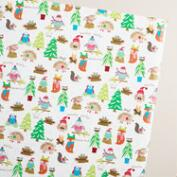 Jumbo Into the Woods Wonderland Wrapping Paper Roll