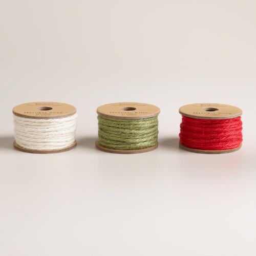 Rope Ribbon, 3-Pack
