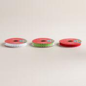 Felt Circle Ribbon, 3-Pack