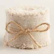Linen Ribbon, 2-Pack