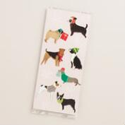 Christmas Puppies Cello Goodie Bags, 8 Pack