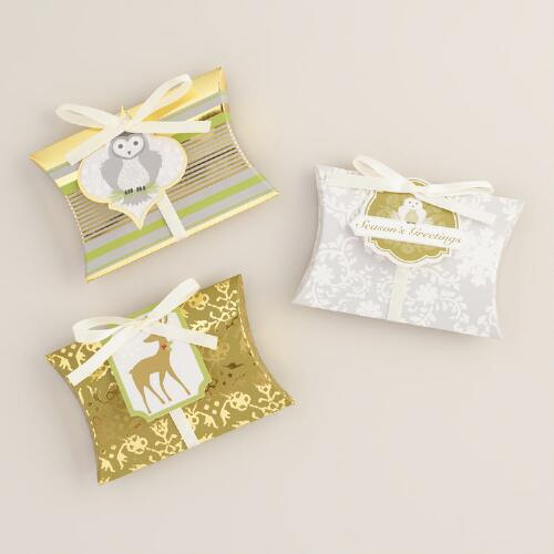 Frosty Morning Gift Card Pouches, Set of 3