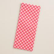 Christmas Message Gingham Tissue Paper, 2 Pack