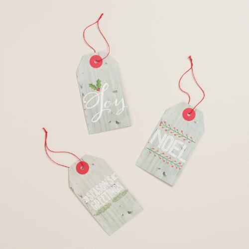 Garden Shed Kraft Gift Tags, Set of 6