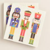 Nutcracker Beverage Napkins, 2 Pack
