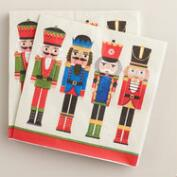 Nutcracker Lunch Napkins, 2 Pack