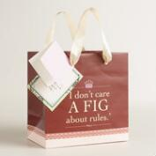 Small Downton Abbey Gift Bags Set of 2