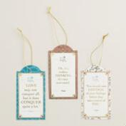 Downton Abbey Gift Tags Set of 2
