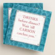 Downton Abbey Carson Beverage Napkins Set of 2