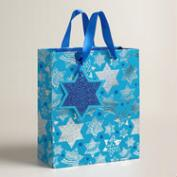 Medium Star of David Gift Bags, Set of 2