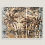 Modern Palm Trees Wall Art