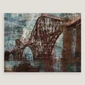 Vintage Style Bridge Wall Art