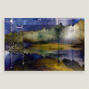 Summer Evening Abstract Wall Art