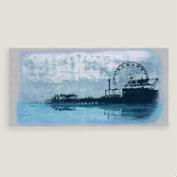 Blue Pier Wall Art