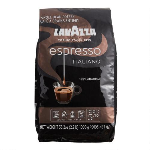 Lavazza Caffe Espresso Whole Bean Coffee