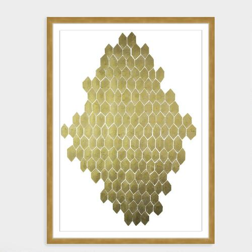 Golden Honeycomb by Kate Roebuck