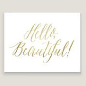 Hello Beautiful by Shelley Weir