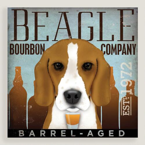 Beagle Bourbon Company Wall Art