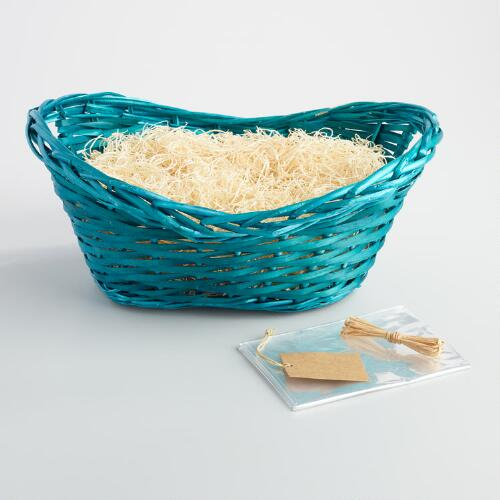 Teal Basket Kit