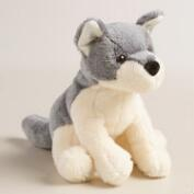 Plush Stuffed Wolf