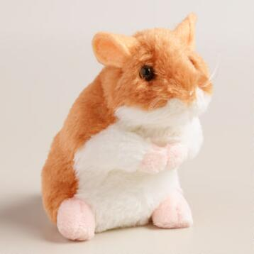 Plush Stuffed Hamster