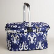 Ikat Insulated Collapsible Tote Bag