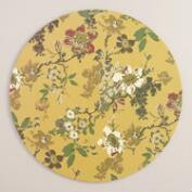 Round Grace Floral Placemats Set of 25