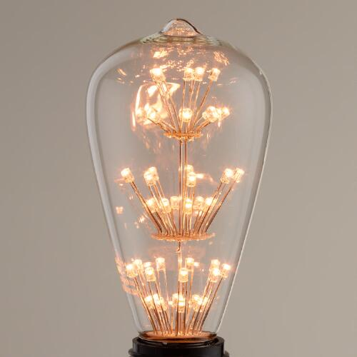 Tall Vintage-Style Stacked LED Bulb