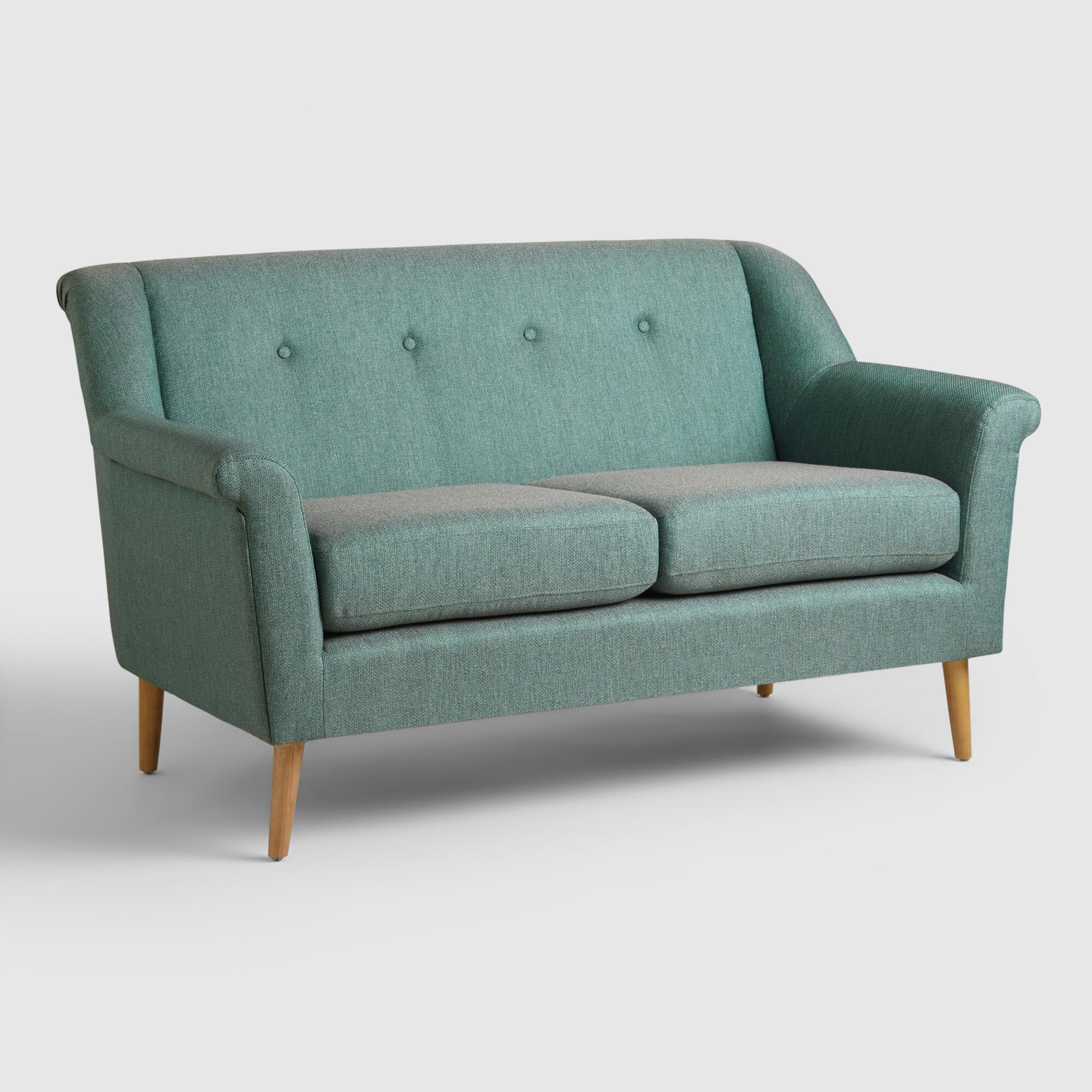 Teal Kaira Love Seat World Market
