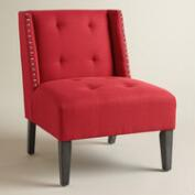 Coral Carlin Wingback Chair