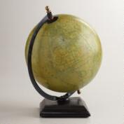 Parchment Paper Globe with Stand