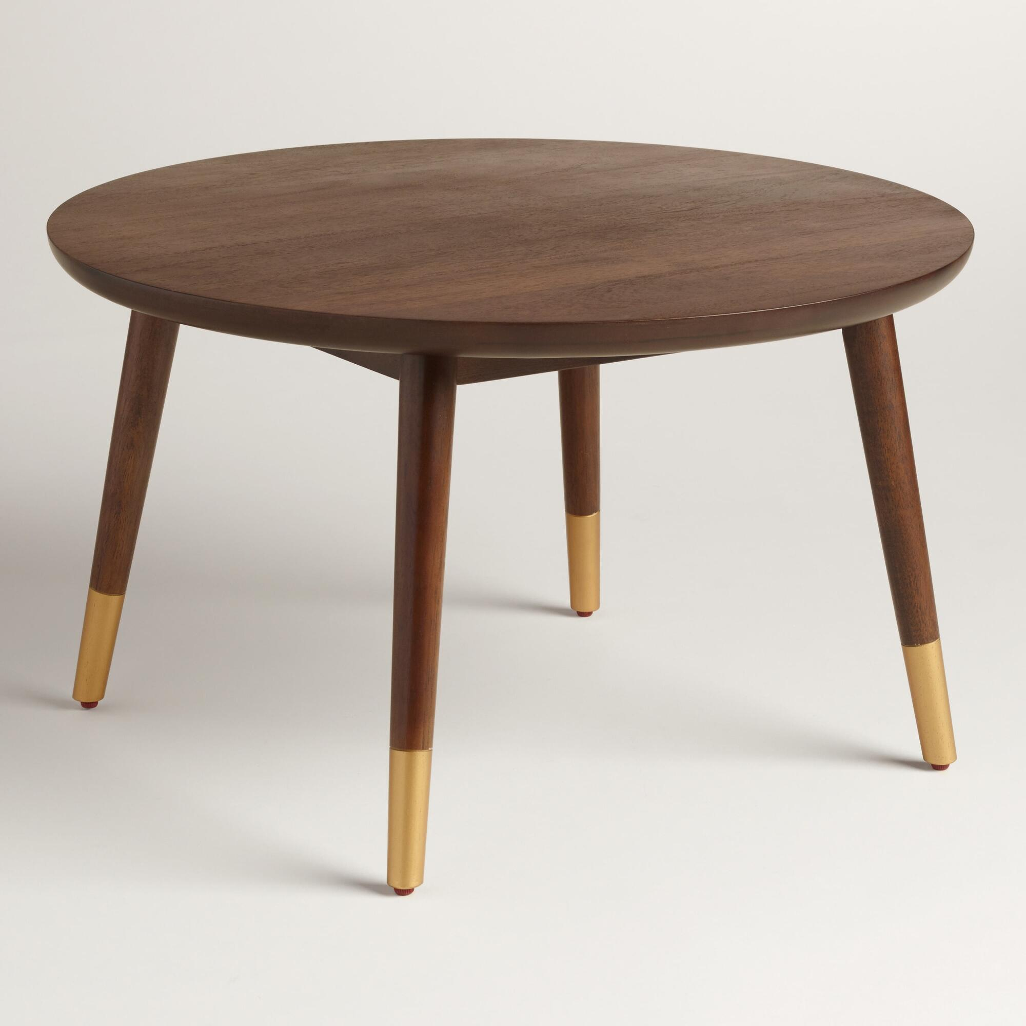 Coffee Table Coffee Table World Market Round Hairpin: Small Wood Randon Coffee Table