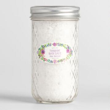 Bird and Bee Lilac Blossom Bath Salts