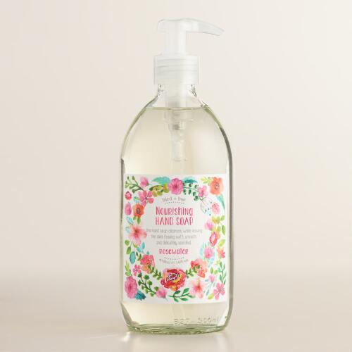 Bird and Bee Rosewater Hand Soap