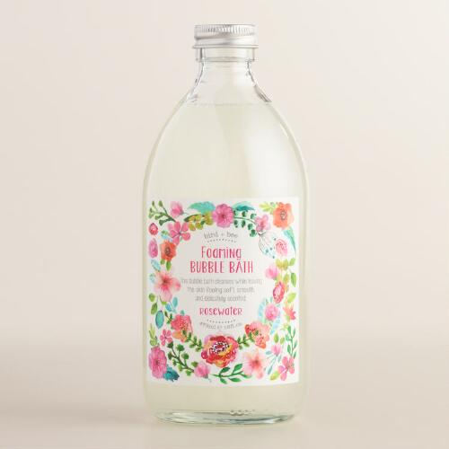 Bird and Bee Rosewater Bubble Bath