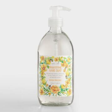 Bird and Bee Lemon Flower Hand Soap