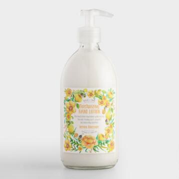 Bird and Bee Lemon Flower Hand Lotion